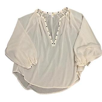 Amuse sheer top