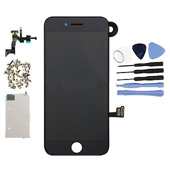 Stuff Certified® iPhone 7 Pre-assembled Screen (Touchscreen + LCD + Parts) A + Quality - Black + Tools