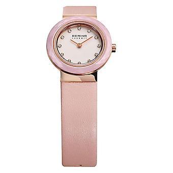 Bering reloj de mujer reloj de pulsera de cerámica delgada - 10725-969 cuero