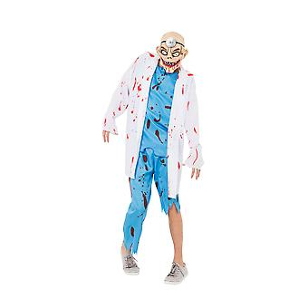 Mens Mad Surgeon Fancy Dress Costume (Extra Large)
