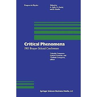 Critical Phenomena 1983 Bra Ov School Conference by Ceausescu