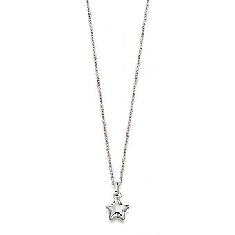Little Star Eva Silver Little Star Children's Ketting