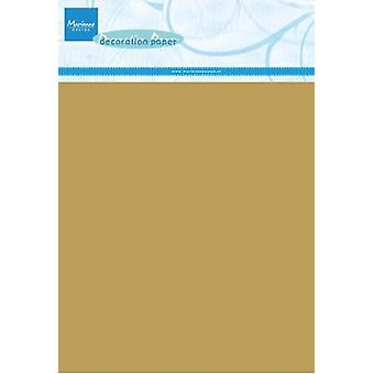 Marianne Design Decoration paper - gold 5 sheets CA3126