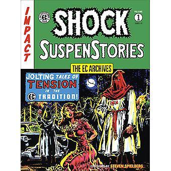 Ec Archives - Shock Suspense Stories Volume One by Stephen Spielberg -