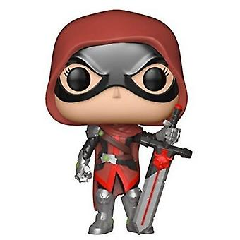 Funko Pop! Games: Marvel Contest Of Champions - Guillotine + Pop Protector