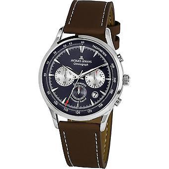 Jacques Lemans - Wristwatch - Men - Retro Classic - - 1-2068C