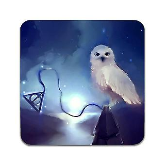 2 ST Harry Potter Hedwig Coasters