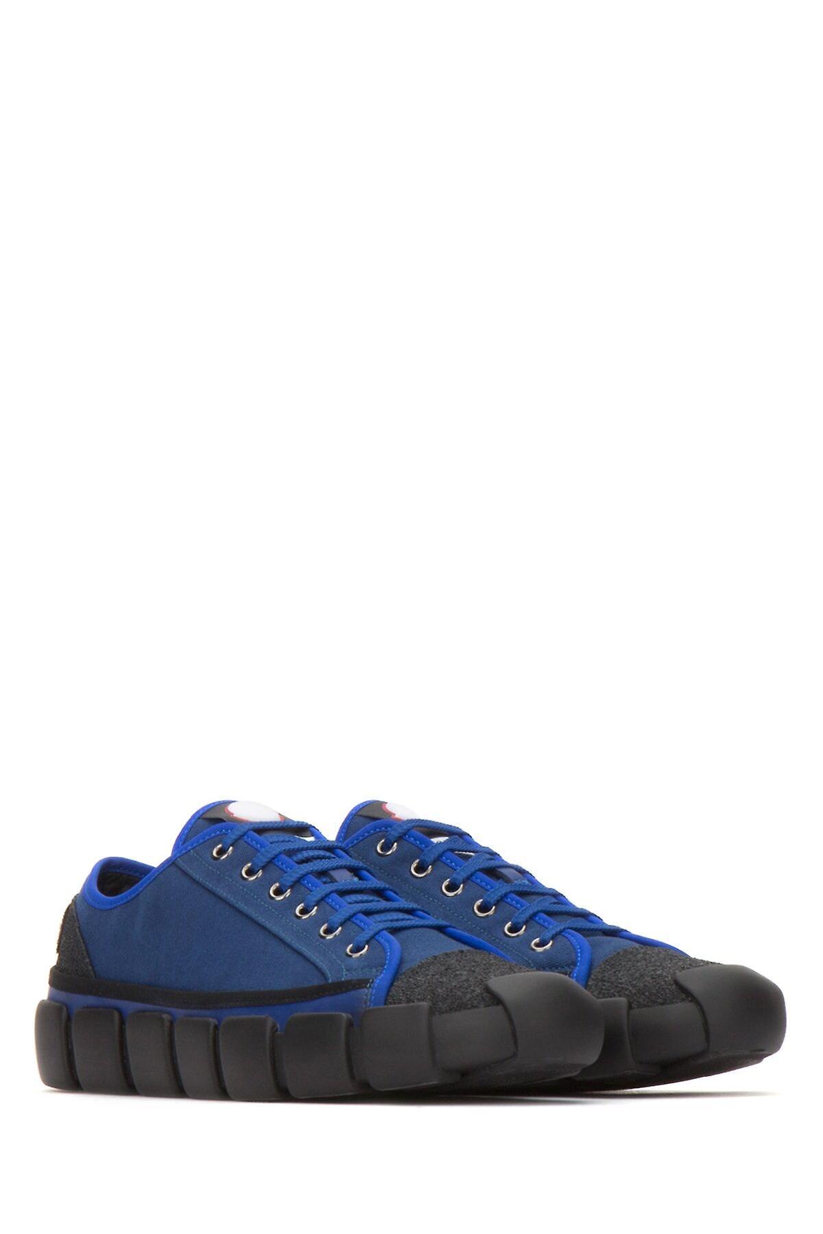 Moncler Genius Ezcr003004 Baskets en tissu bleu
