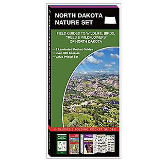 North Dakota Nature Set: Field Guides to Wildlife, Birds, Trees & Wildflowers of North Dakota