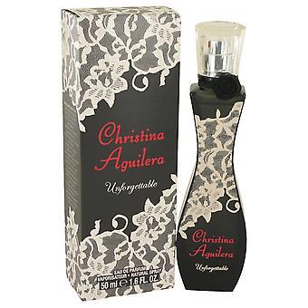 Christina Aguilera Unforgettable Eau De Parfum Spray By Christina Aguilera 1.7 oz Eau De Parfum Spray