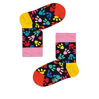 Happy Socks Kids' Pink Panther Pink Blueprint Socks