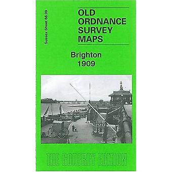 Brighton 1909 - Sussex Sheet 66.09 by Alan Godfrey - 9781847840851 Book