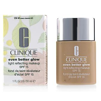 Nog beter gloedlicht reflecterende make-up spf 15 # cn 40 crème zeem 230984 30ml/1oz