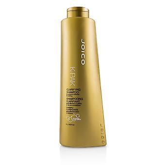 K pak selventää shampoo poistaa klooria & kertyminen (korkki) 221530 1000ml / 33.8oz