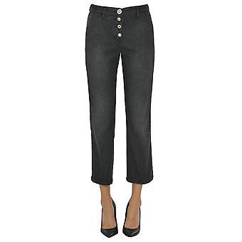 White Sand Ezgl429011 Women's Grey Cotton Pants