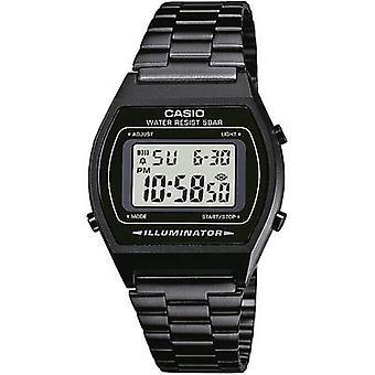 ساعة معصم كوارتز B640WB-1AEF (L x W x H) 38.9 × 35 × 9.4 ملم مواد العلبة السوداء = مادة الراتنج (حزام الساعة)=كاسيو الفولاذ المقاوم للصدأ