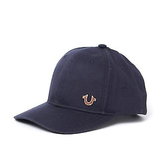 True Religion Marine & Gold Logo Baseballcap