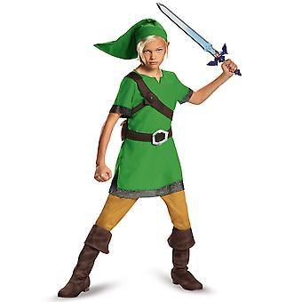Linkki Classic Legend of Zelda Nintendo video peli kirja viikko pojat puku