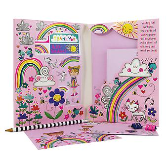 Rainbow writing set