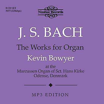 J.S. Bach - J.S. Bach: The Works för orgel [CD] USA import