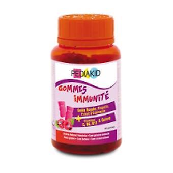 Pediakid Gummy Immuno (Raspberry Flavor) 60 units (Raspberry)