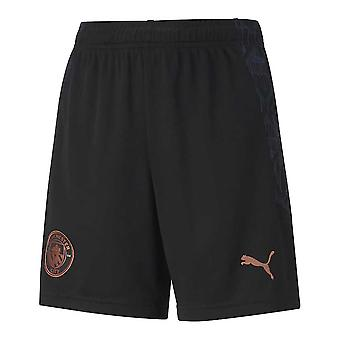 2020-2021 Manchester City Away Football Shorts (Kids)