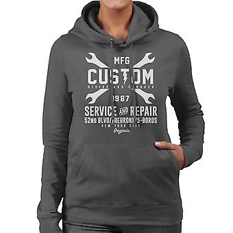 Divide & Conquer Custom Service And Repair Women's Hooded Sweatshirt