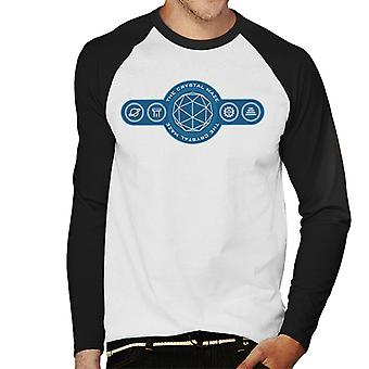 The Crystal Maze Logo Symbols Men's Baseball Long Sleeved T-Shirt