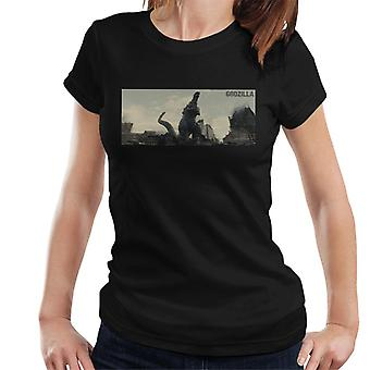Godzilla Destruction Women's T-Shirt