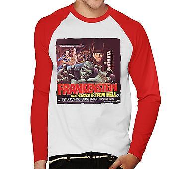 Hammer Horror Films Frankenstein Monster From Hell Red Men-apos;s Baseball Long Sleeved T-Shirt Hammer Horror Films Frankenstein Monster From Hell Red Men-apos;s Baseball Long Sleeved T-Shirt Hammer Horror Films Frankenstein Monster From Hell Red Men-apos;s Baseball Long Sleeved T-Shirt Hammer Horror