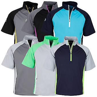 Sunderland Mens Himalayas Half Sleeve Lightweight Golf Stretch Windshirt