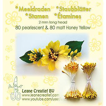 Leane Creatief Stamens Honey Yellow