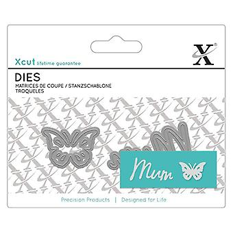 Xcut ميني المشاعر يموت (2pcs) -- أمي (XCU 504099)
