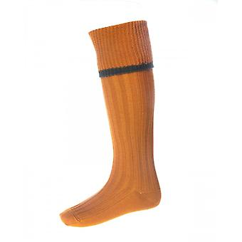 House of Cheviot Country Socks Estate ~ Ochre