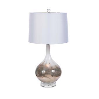 S/2 Kunst glazen tafellamp