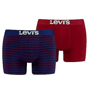Levi's 2 Pack Vintage Raita Bokser lyhyt - sininen