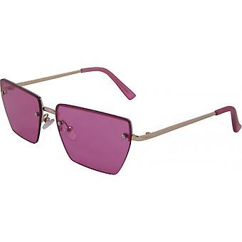 Gafas de sol Unisex Rectangular Cat. 3 oro/rosa (3240-A)