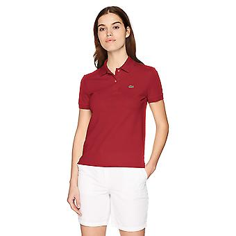 Lacoste dames ' s Classic fit korte mouw zachte katoenen Petit Piqué Polo, Turkije rood 2