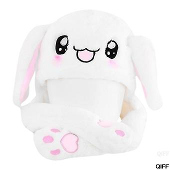 Hot Novelty Magic Rabbit Hat With Moving Ear Plush Toy Gift Kids Toy Party