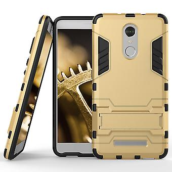 Shell of Xiaomi Redmi Note 3 Space Armor Gold Protection Case Kickstand