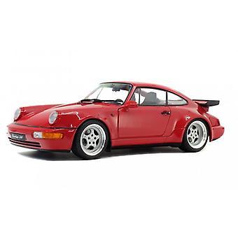 Solido 1:18 1990 Porsche 964 Turbo Red