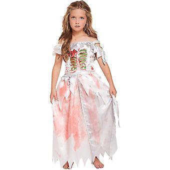 Zombie-Kleid, Maskiert - Halloween - 4-6 Jahre