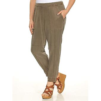 1.State | The Artist Cropped Twill Jogger Pants