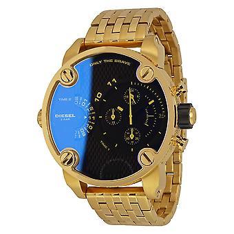 Diesel Big Daddy Iridescent Dual Time Dial Men's Watch DZ7347