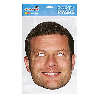 Mask-arade Dermot O´Leary Celebrities Party Face Mask