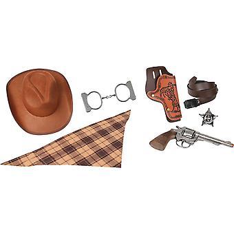CAP GUN - 880/0 - Gonher Cowboy Set 8 Shots