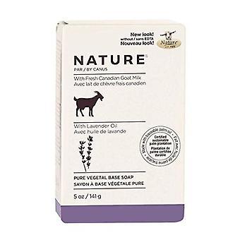 Canus Goats Milk Bar Soap, Lavender 5 oz
