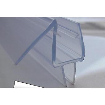 bad dusj skjerm gummi vanntett strimler glass dør tetninger med lengde: 700mm