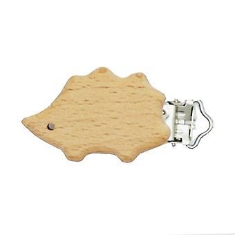 Bpa Free Cute Modelling Beech Pacifier Nipple Chain Clip