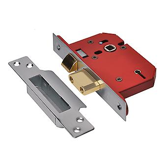 "UNION StrongBOLT 2205S 5 Palanca Mortice Sashlock SS 81mm 3"" Visi UNNY2205SS30"